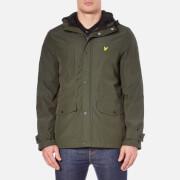 Lyle & Scott Men's Micro Fleece Lined Jacket - Dark Sage