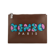 KENZO Women's Occasions A4 Pouch - Brown