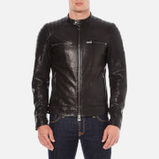 Belstaff Men's Stoneham Leather Jacket - Black