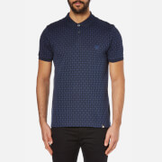 Pretty Green Men's Abbott Jacquard Polo Shirt - Navy