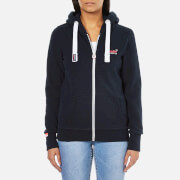 Superdry Women's Orange Label Primary Zip Hoody - Eclipse Navy