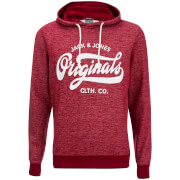 Jack & Jones Men's Originals Break Hoody - Syrah Melange