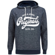 Jack & Jones Men's Originals Break Hoody - Navy Melange