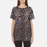 Marc Jacobs Women's Leopard Skater T-Shirt - Snow Leopard