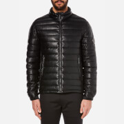 Versace Jeans Men's Zipped Down Jacket - Nero