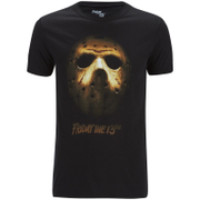 Friday the 13th Men's Mask T-Shirt - Black
