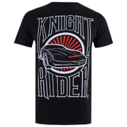 Knight Rider Mens Dark Knight T-Shirt - Zwart