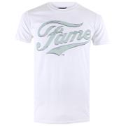Fame Men's Logo T-Shirt - White