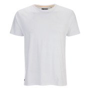 Threadbare Men's William Plain Crew Neck T-Shirt - White