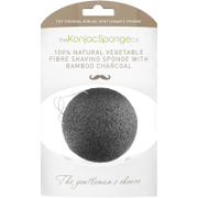 The Konjac Sponge Company Gentlemen's Shaving Sponge with Bamboo Charcoal