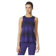 adidas Women's Wow Training Boxy Tank Top - Purple