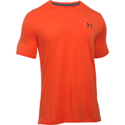 Under Armour Men's Sportstyle Left Chest Logo T-Shirt - Dark Orange/Nova Teal
