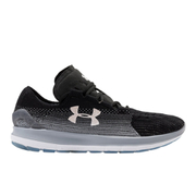 Under Armour Men's SpeedForm Slingride Fade Running Shoes - Black/Overcast Grey