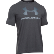 Under Armour Men's Sportstyle Logo T-Shirt - Black/Steel/Stealth Grey