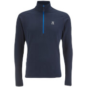 Haglofs Men's Astro II Half Zip Fleece - Deep Blue