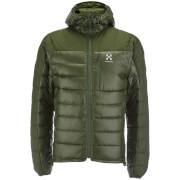Haglofs Men's Bivvy Down Hooded Jacket - Nori Green