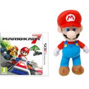 Mario Kart 7 + Mario Soft Toy