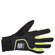 Sportful Sotto Zero Gloves - Black/Yellow