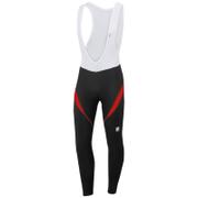 Sportful Men's Giro 2 Bib Tights - Black/Red