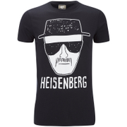 Breaking Bad Mens Heisenberg T-Shirt - Zwart