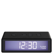 Lexon Flip Clock - Black
