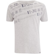 Smith & Jones Men's Reredox Print T-Shirt - Grey