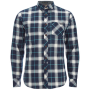 Tokyo Laundry Men's Callaghan Flannel Long Sleeve Shirt - Porcelain Green