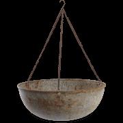 Nkuku Abari Round Hanging Planter 46 x 32cm