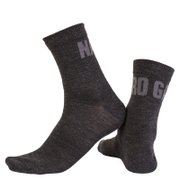 Nalini Blu Socks H19 - Black/Grey
