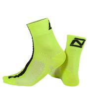 Nalini Corsa Socks 19cm - Fluro Yellow