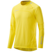 Skins Plus Men's Terra Long Sleeve Top - Citron