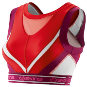 Skins DNAmic Women's Vest Crop Top - Rossa