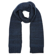 Selected Homme Men's Grit Scarf - Dark Sapphire
