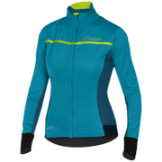 Castelli Women's Trasparente 3 Long Sleeve Jersey - Turquoise/Blue