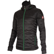 Castelli Meccanico Puffy Jacket - Black/Green
