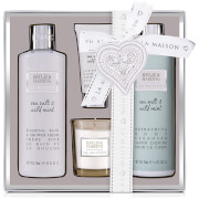 Baylis & Harding La Maison Sea Salt & Wild Mint 4 Piece Candle Gift Set