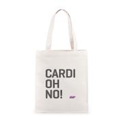 Cardiohno Slogan Canvas Tas