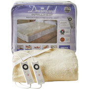 Dreamland Sleepwell Intelliheat Soft Fleece Fitted Electric Under Blanket - Cream - Single