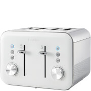 Breville VTT687 High Gloss 4 Slice Toaster - White