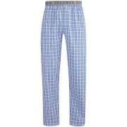 Ben Sherman Men's Check Richard Lounge Pants - Blue/White/Black