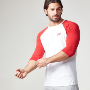 Myprotein Heren Core Baseball T-Shirt - Rood