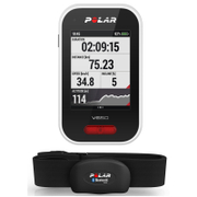 Polar V650 GPS Bicycle Computer Combo with Heart Rate Monitor - Black