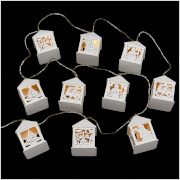 Bark & Blossom Led String Lights - White
