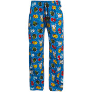 Marvel Comics Men's Avengers Lounge Pants - Blue
