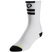 Pearl Izumi Elite Tall Socks - Pi Core White