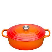 Le Creuset Signature Oval Casserole Dish - 23cm - Volcanic