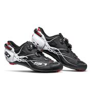 Sidi Shot Carbon Cycling Shoes - Matt Black/Gloss White