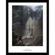 "Skyrim Elf Temple Framed Photographic - 16"""" x 12"""