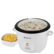 Elgento 2.5L Rice Cooker - White