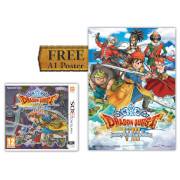 Dragon Quest VIII - Journey of the Cursed King + A1 Poster